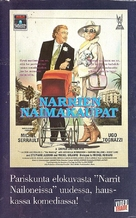 Cage aux folles, La - Finnish VHS cover (xs thumbnail)