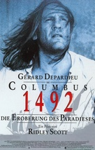 1492: Conquest of Paradise - German Movie Poster (xs thumbnail)