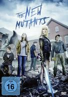 The New Mutants - German DVD movie cover (xs thumbnail)