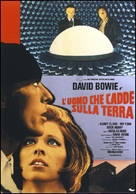 The Man Who Fell to Earth - Italian Movie Poster (xs thumbnail)