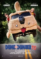 Dumb and Dumber To - New Zealand Movie Poster (xs thumbnail)