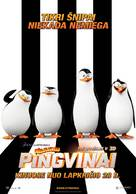 Penguins of Madagascar - Lithuanian Movie Poster (xs thumbnail)