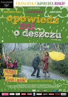 Parlez-moi de la pluie - Polish Movie Poster (xs thumbnail)