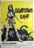One Million Years B.C. - Swedish Movie Poster (xs thumbnail)