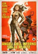 Hells Angels on Wheels - Italian Movie Poster (xs thumbnail)