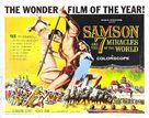 Maciste alla corte del Gran Khan - Movie Poster (xs thumbnail)