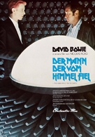 The Man Who Fell to Earth - German Movie Poster (xs thumbnail)