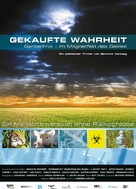 Gekaufte Wahrheit - Gentechnik im Magnetfeld des Geldes - German Movie Poster (xs thumbnail)