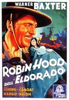 The Robin Hood of El Dorado - Italian Movie Poster (xs thumbnail)