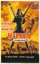 Run of the Arrow - Spanish Movie Poster (xs thumbnail)