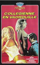 La collegiale - French VHS movie cover (xs thumbnail)