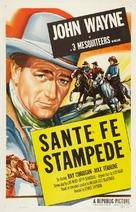 Santa Fe Stampede - Movie Poster (xs thumbnail)