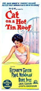 Cat on a Hot Tin Roof - Australian Movie Poster (xs thumbnail)