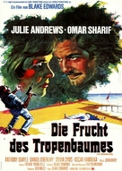 The Tamarind Seed - German Movie Poster (xs thumbnail)