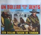 Un dollaro tra i denti - Belgian Movie Poster (xs thumbnail)