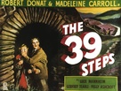 The 39 Steps - British Movie Poster (xs thumbnail)