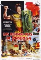 Ultimi giorni di Pompei, Gli - Spanish Movie Poster (xs thumbnail)