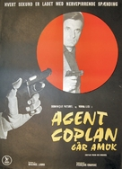 Coplan prend des risques - Danish Movie Poster (xs thumbnail)