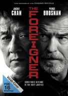 The Foreigner - German DVD movie cover (xs thumbnail)