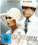 The Great Gatsby - German Blu-Ray cover (xs thumbnail)