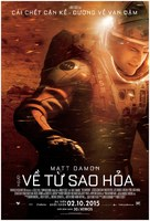 The Martian - Vietnamese Movie Poster (xs thumbnail)
