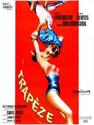 Trapeze - French Movie Poster (xs thumbnail)