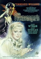 The Glass Menagerie - German Movie Poster (xs thumbnail)