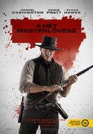 The Magnificent Seven - Hungarian Movie Poster (xs thumbnail)