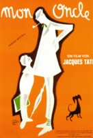 Mon oncle - German Movie Poster (xs thumbnail)