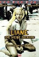 Liane, die weiße Sklavin - German DVD cover (xs thumbnail)
