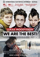 Vi är bäst! - Dutch Movie Poster (xs thumbnail)