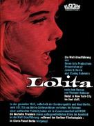 Lolita - German Movie Cover (xs thumbnail)