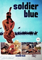 Soldier Blue - Swedish Movie Poster (xs thumbnail)