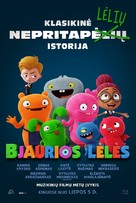 UglyDolls - Lithuanian Movie Poster (xs thumbnail)