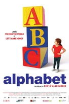 Alphabet - French Movie Poster (xs thumbnail)