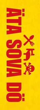 Äta sova dö - Swedish Logo (xs thumbnail)