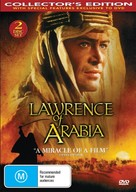 Lawrence of Arabia - Australian DVD movie cover (xs thumbnail)
