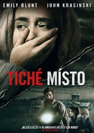 A Quiet Place - Czech DVD cover (xs thumbnail)