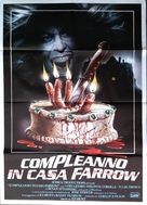 Bloody Birthday - Italian Movie Poster (xs thumbnail)