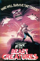 Attack of the Beast Creatures - VHS movie cover (xs thumbnail)