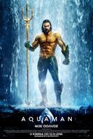 Aquaman - Croatian Movie Poster (xs thumbnail)