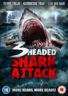 3 Headed Shark Attack - British Movie Cover (xs thumbnail)