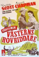 Coroner Creek - Swedish Movie Poster (xs thumbnail)