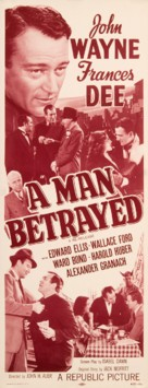 A Man Betrayed - Movie Poster (xs thumbnail)