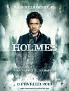 Sherlock Holmes - French Movie Poster (xs thumbnail)