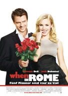 When in Rome - German Movie Poster (xs thumbnail)