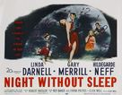 Night Without Sleep - Movie Poster (xs thumbnail)