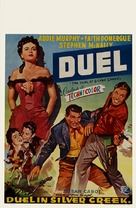 The Duel at Silver Creek - Belgian Movie Poster (xs thumbnail)