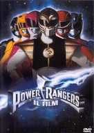 Mighty Morphin Power Rangers: The Movie - Italian DVD cover (xs thumbnail)