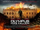 Olympus Has Fallen - British Movie Poster (xs thumbnail)